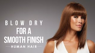 HOW-TO: Blow dry human hair wigs for a smooth finish