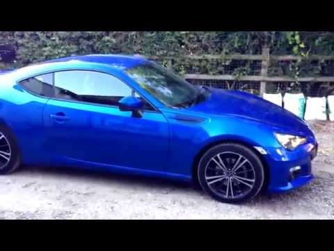Subaru BRZ Walkaround and tour