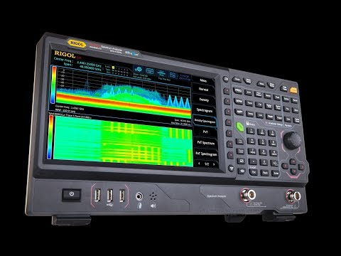 Introduction of the RSA5000 series Real-Time Spectrum Analyzers