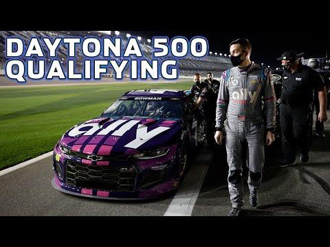 NASCAR 2021 DAYTONA500のプラクティスの様子を捉えたレース動画