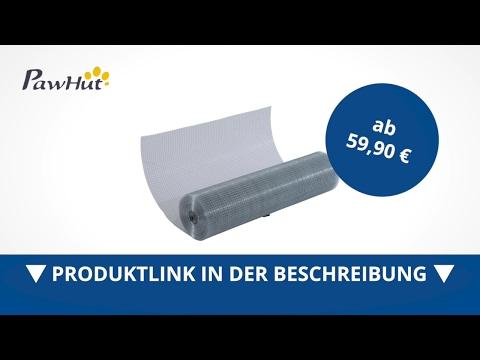 Pawhut Volierendraht Maschendraht Drahtzaun Drahtgitter  - direkt kaufen!
