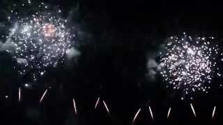preview picture of video 'Fuochi d'artificio Campione d'Italia 2014 completo'