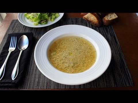 Stracciatella Soup – Italian Egg Drop Soup Recipe
