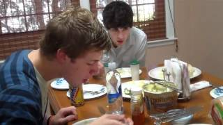 Sam and Cole (Paradise Fears) Trying Grits for the First Time
