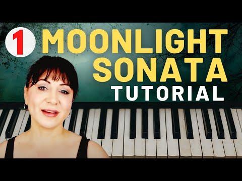 BEETHOVEN MOONLIGHT SONATA Piano Tutorial PART 1 | Sheet Music