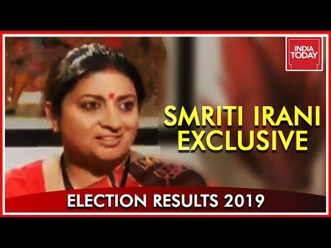 Smriti Irani Interview With Rahul Kanwal After Her Epic Win From Amethi | India Today Exclusive