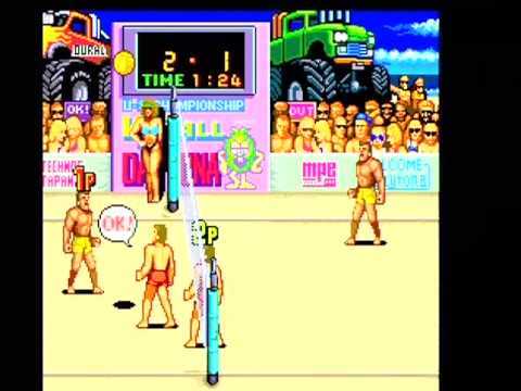 Championship VBall Volleyball: Technos Retro Sports Arcade Game V Ball