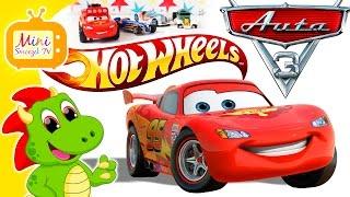 Auta 3 Bajka Zygzak McQueen i Hot Wheels Super Samochody w Balonach | Filmik Dla Dzieci