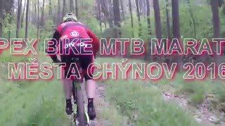 Video APEX BIKE MTB maraton města Chýnov 2016
