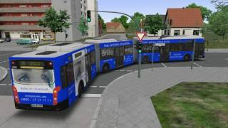 VideoImage1 OMSI 2 Add-on Bi-articulated bus AGG300