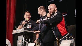 «Настраивайся боксировать, Слава». Исмаилов и Василевский троллят друг друга перед боем ACA 95