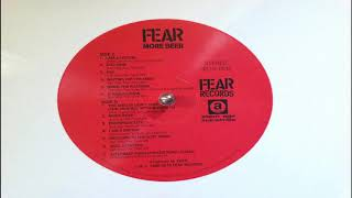 FEAR 'More Beer' (Sides C & D - Vinyl Rip)