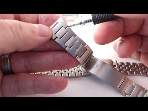 Watch bracelets, and how to fit the endlinks on them