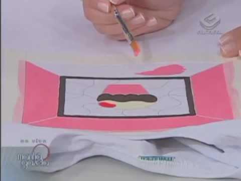 Técnica PUFF em camiseta / Programa Manhã Gazeta