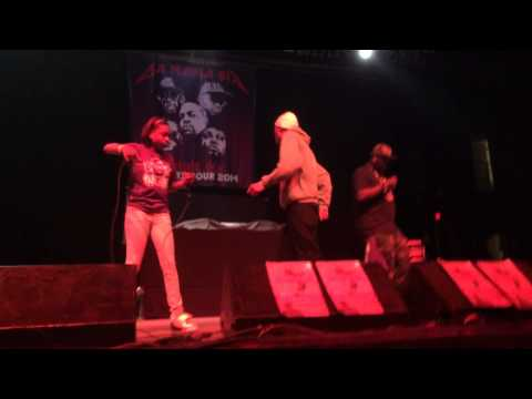 Cani Performance Opening for Three Six Mafia at the Agora