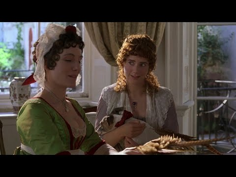 Fanny gets the shock of her life - Sense & Sensibility (1995)
