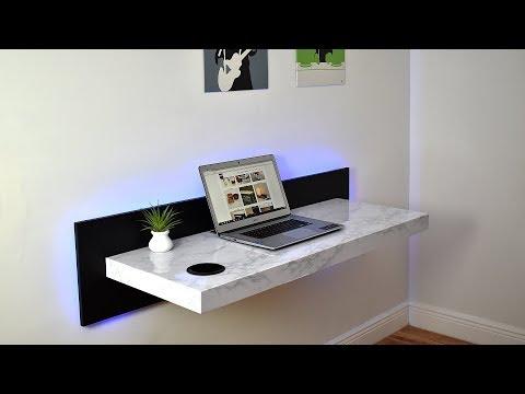 DIY Wall Mounted Dream Desk