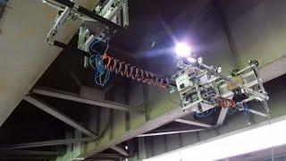 ステレオカメラを搭載した橋梁近接目視代替ロボット(富士フイルム株式会社、株式会社イクシスリサーチ、一般財団法人首都高速道路技術センター)【さがみロボット産業特区】神奈川県制作ムービー