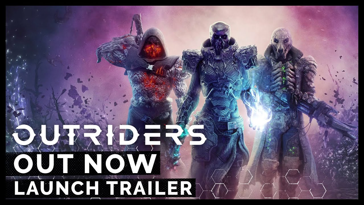 Outriders Launch Trailer [ESRB]