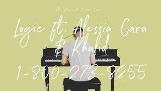 Logic ft. Alessia Cara & Khalid - 1-800-273-8255   The Theorist Piano Cover
