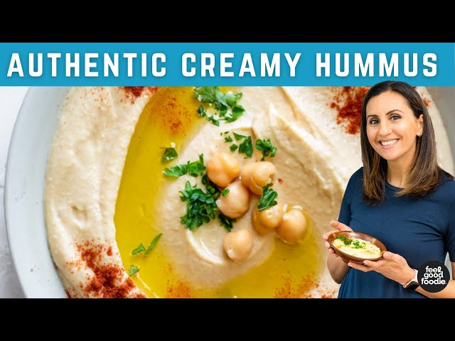 How to make the BEST HUMMUS!