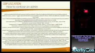 DerbyCon 2013 ') UNION SELECT `This_Talk` AS ('New Optimization and Obfuscation Techniques')%00