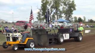 Hoyt Ks Sep. 15th 2012 Hot Rod Garden Tractor Pull