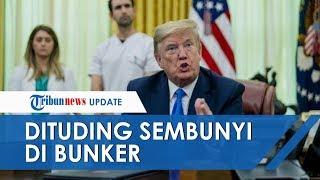 Tudingan Sembunyi di Bunker saat Demo, Donald Trump Mengaku Hanya Memeriksa Bukan Berlindung Diri