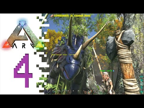 ARK Survival Evolved Walkthrough - EP03 - The Great One by