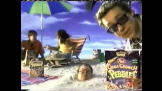 Post Cinna Crunch Pebbles Cereal | Television Commercial | 2000 | Flinstones