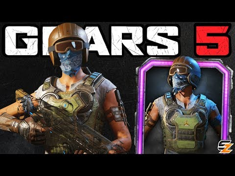 GEARS 5 Characters Gameplay - HIVEBUSTER LIZZIE CARMINE Character Skin Multiplayer Gameplay!