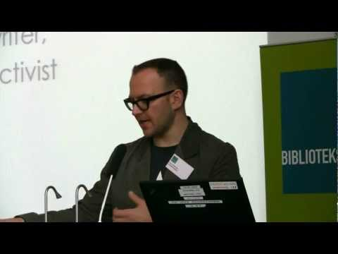 Cory Doctorow on libraries, e-books and DRM