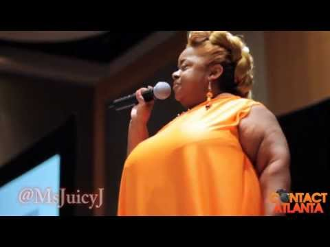 Ms. Juicy from The Ricky Smiley Morning Show Presents: Shortys Run The Runway 2013