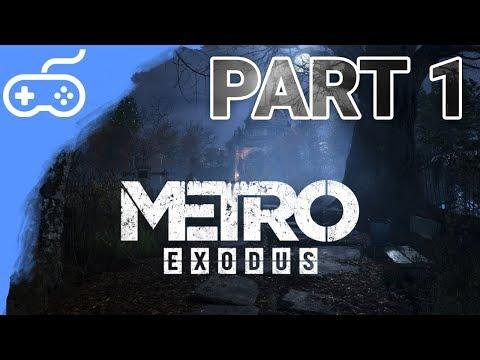 PRVNÍ HODINOVÝ DÍL S RTX! - Metro Exodus #1