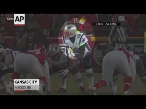 Citation issued against Missouri man accused of flashing laser at New England quarterback Tom Brady during Patriots' AFC championship game victory over Kansas City Chiefs. (April 10)
