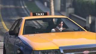 Historia de taxi -Ricardo Arjona- GTA V Recreacion