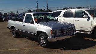 США. 1993 Chevrolet на аукционе. Б/У АВТОМОБИЛИ В США