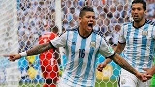 First Half Argentina vs Paraguay 6-1 All Goals | Copa America 2015