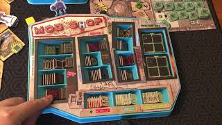 Board Game Reviews Ep #124: WASTELAND EXPRESS DELIVERY SERVICE