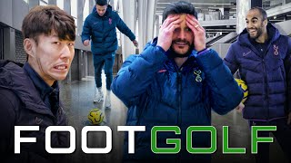 IS THIS THE WORLD'S HARDEST FOOTGOLF COURSE? | TOTTENHAM HOTSPUR STADIUM | Son, Dele, Lloris & Lucas