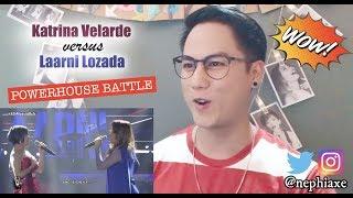 Katrina Velarde VS Laarni Lozada | ASAP Versus | REACTION