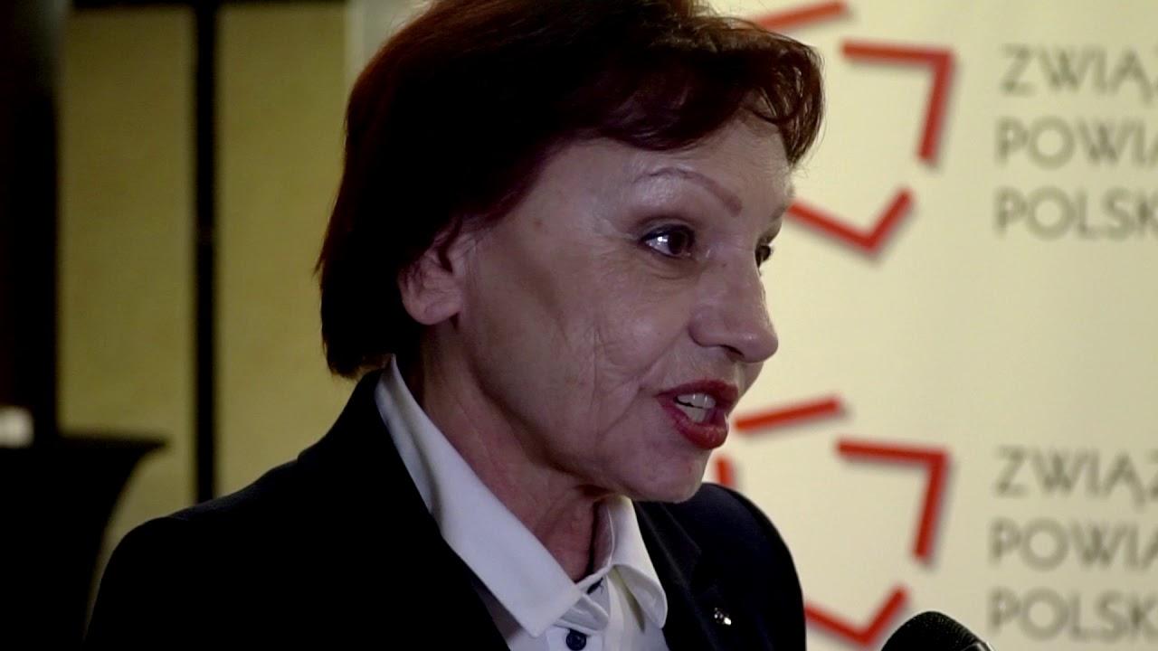 Starosta Kędzierzyńsko-Kozielski Małgorzata Tudaj podczas XXIV Zgromadzenia Ogólnego ZPP