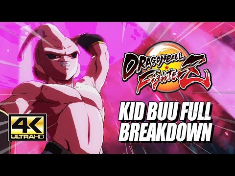 KID BUU – Specials, Supers, Combos & Breakdown: DragonBall FighterZ