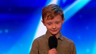 Child comedian destroys judges  Britain's Got Talent 2017   YouTub