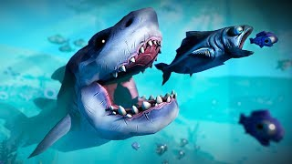 PLAY AS A FISH & TRY TO SURVIVE!! (Feed and Grow Fish)