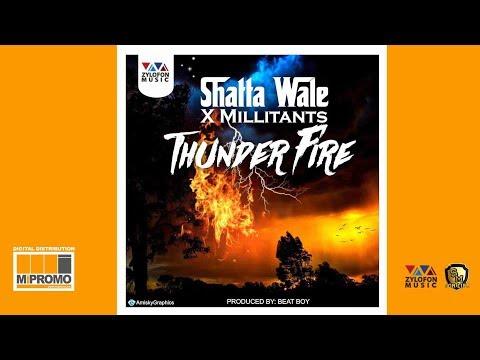 Shatta Wale x Millitants - Thunder Fire
