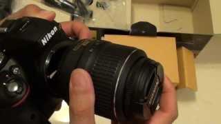 Nikon D5300: How to Attach or Detach a Camera Lens