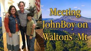 a Day on Walton's Mountain with John Boy (Richard Thomas) from The Waltons TV Show