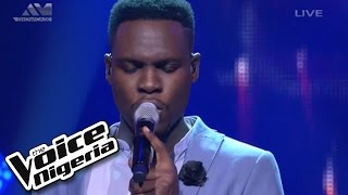 "Nonso Bassey Sings ""Impossible""  Live Show  The Voice Nigeria 2016"