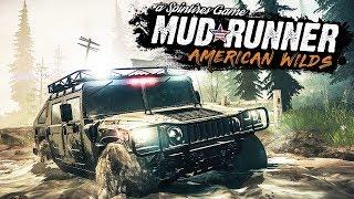 Новое ОБНОВЛЕНИЕ American Wilds DLC в Spintires: MudRunner